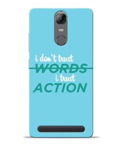 Words Action Lenovo K5 Note Mobile Cover