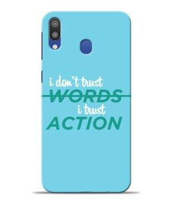 Words Action Samsung M20 Mobile Cover