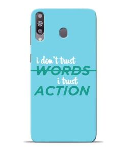 Words Action Samsung M30 Mobile Cover