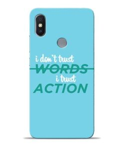 Words Action Xiaomi Redmi Y2 Mobile Cover