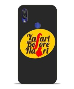 Yafari Before Xiaomi Redmi Note 7 Mobile Cover