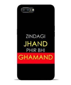 Zindagi Jhand Oppo Realme C1 Mobile Cover