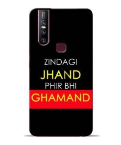 Zindagi Jhand Vivo V15 Mobile Cover
