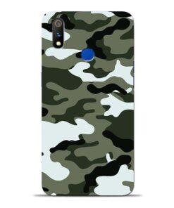 Army Camo Oppo Realme 3 Pro Mobile Cover
