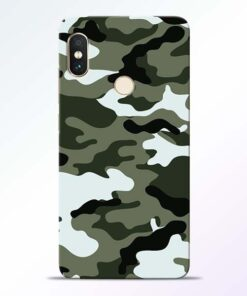 Army Camo Redmi Note 5 Pro Mobile Cover