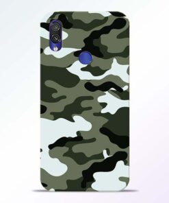 Army Camo Redmi Note 7 Pro Mobile Cover