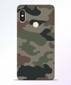 Army Camouflage Redmi Note 5 Pro Mobile Cover