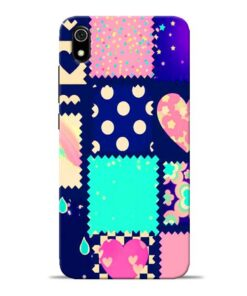Cute Girly Redmi 7A Mobile Cover