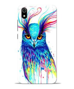 Cute Owl Redmi 7A Mobile Cover
