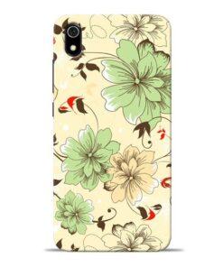 Floral Design Redmi 7A Mobile Cover