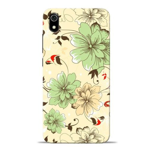 Floral Design Redmi 7A Mobile Cover