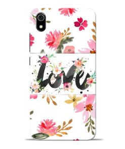 Flower Love Redmi 7A Mobile Cover