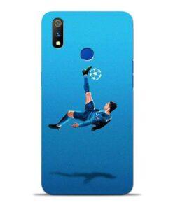 Football Kick Oppo Realme 3 Pro Mobile Cover