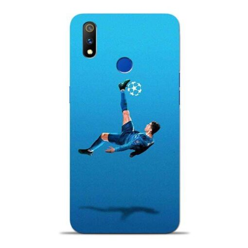 Football Kick Oppo Realme 3 Pro Mobile Cover
