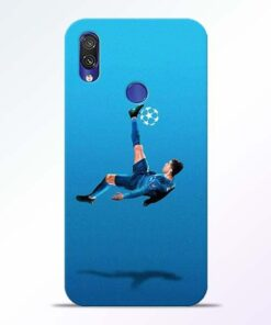 Football Kick Redmi Note 7 Pro Mobile Cover
