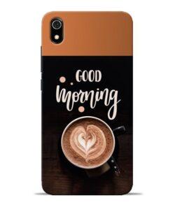 Good Morning Redmi 7A Mobile Cover