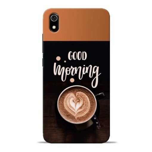 Good Morning Redmi 7A Mobile Cover