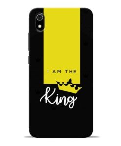 I am King Redmi 7A Mobile Cover