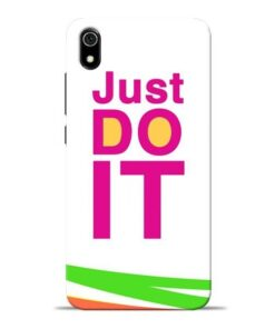 Just Do It Redmi 7A Mobile Cover