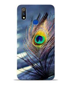 Krishna More Pankh Oppo Realme 3 Pro Mobile Cover