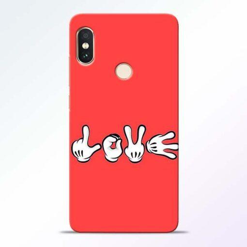 Love Symbol Redmi Note 5 Pro Mobile Cover