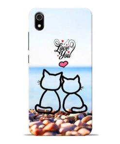 Love You Redmi 7A Mobile Cover