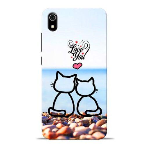 Love You Redmi 7A Mobile Cover