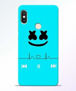 Marshmello Song Redmi Note 5 Pro Mobile Cover