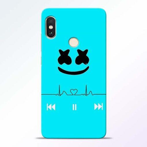 Marshmello Song Redmi Note 5 Pro Mobile Cover