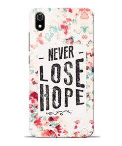 Never Lose Redmi 7A Mobile Cover