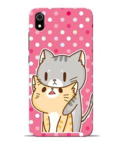 Pretty Cat Redmi 7A Mobile Cover