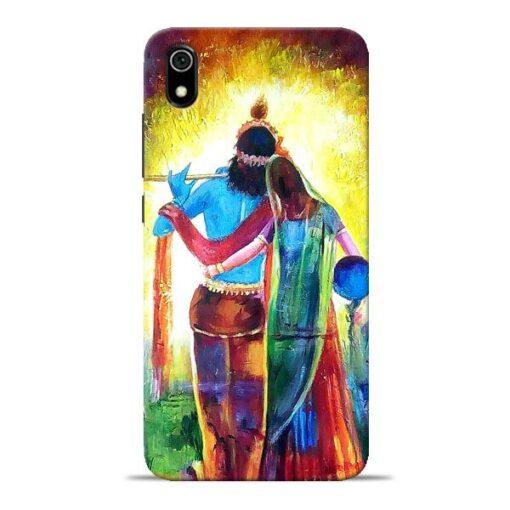 Radha Krishna Redmi 7A Mobile Cover
