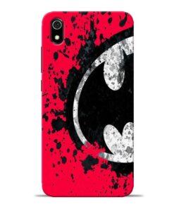 Red Batman Redmi 7A Mobile Cover