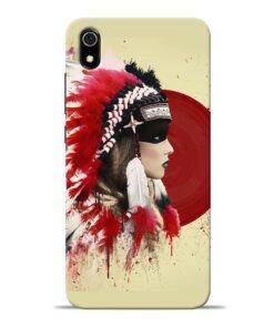 Red Cap Redmi 7A Mobile Cover