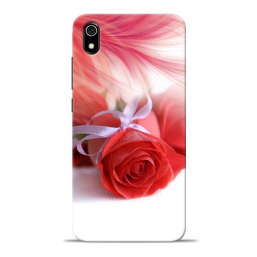 Red Rose Redmi 7A Mobile Cover