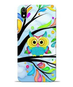Spring Owl Redmi 7A Mobile Cover
