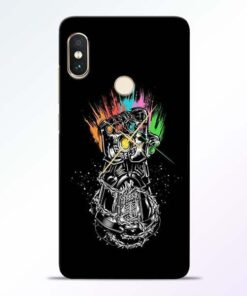 Thanos Hand Redmi Note 5 Pro Mobile Cover