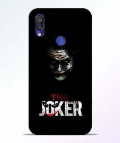 The Joker Redmi Note 7 Pro Mobile Cover