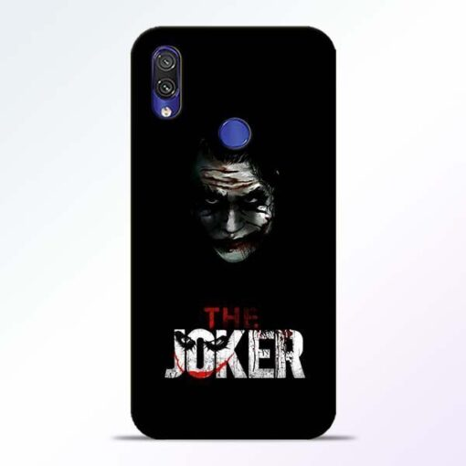 The Joker Redmi Note 7 Pro Mobile Cover