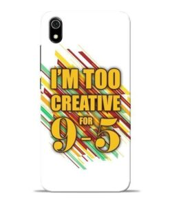 Too Creative Redmi 7A Mobile Cover