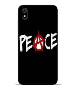White Peace Redmi 7A Mobile Cover