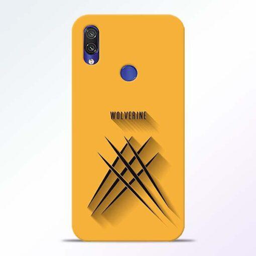 Wolverine Redmi Note 7 Pro Mobile Cover