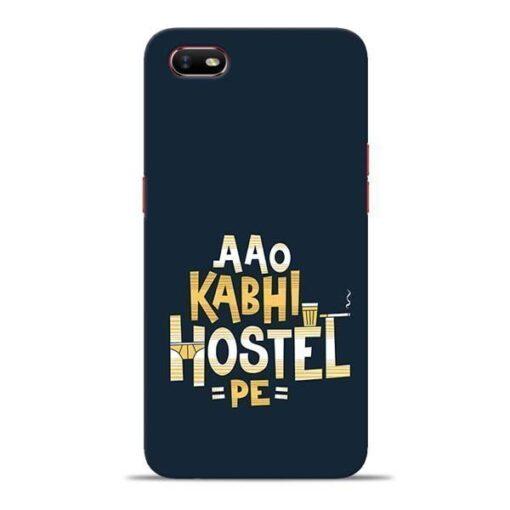 Aao Kabhi Hostel Pe Oppo A1K Mobile Cover