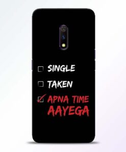 Apna Time Aayega Realme X Mobile Cover