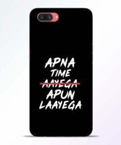 Apna Time Apun Oppo A3S Mobile Cover