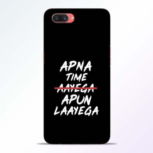 Apna Time Apun Oppo A3S Mobile Cover