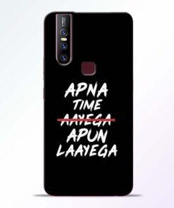 Apna Time Apun Vivo V15 Mobile Cover