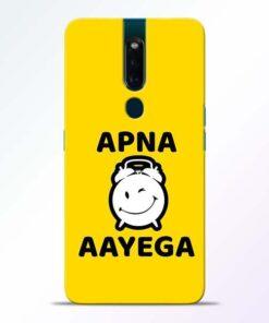 Apna Time Ayega Oppo F11 Pro Mobile Cover