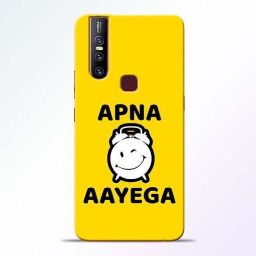 Apna Time Ayega Vivo V15 Mobile Cover