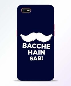 Bacche Hain Sab Oppo A1K Mobile Cover